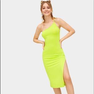 Dresses & Skirts - Neon yellow cami dress